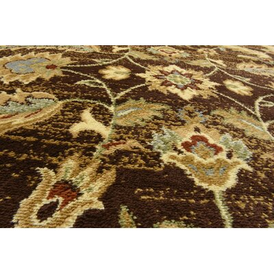 Fairmount Oriental Brown Area Rug Rug Size: Rectangle 10 x 13