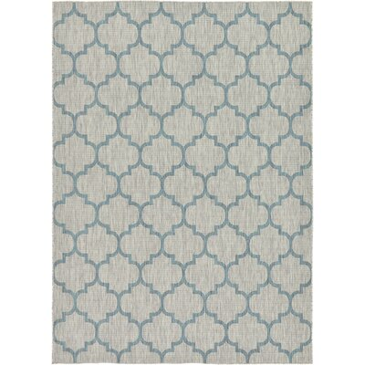 Hannah Gray Outdoor Area Rug Rug Size: 8 x 114