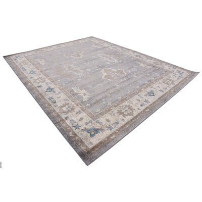 Jaiden Gray Area Rug Rug Size: Rectangle 8 x 10