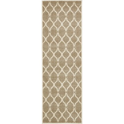 Molly Beige Area Rug Rug Size: Runner 27 x 8