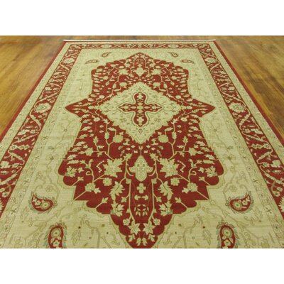 Willow Red Area Rug Rug Size: 7 x 10