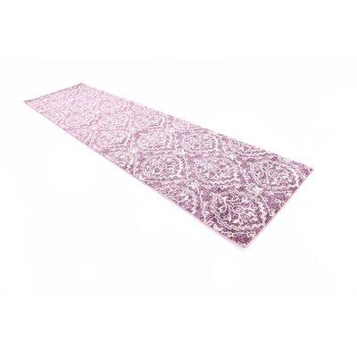 Ezequiel Purple Area Rug Rug Size: Runner 27 x 10