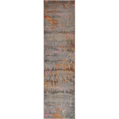 Sepe Gray Area Rug Rug Size: 10 x 13