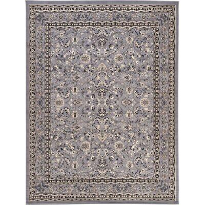 Essehoul Gray Area Rug Rug Size: 910 x 13