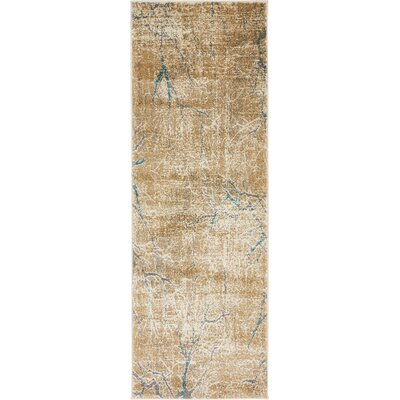 Essex Light Brown Area Rug Rug Size: Runner 22 x 6