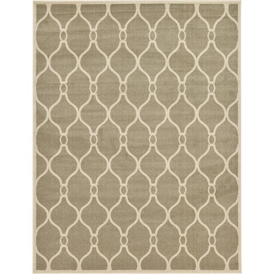 Molly Beige Area Rug Rug Size: 9 x 12
