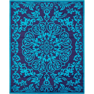 Alford Turquoise Area Rug Rug Size: Rectangle 5 x 8