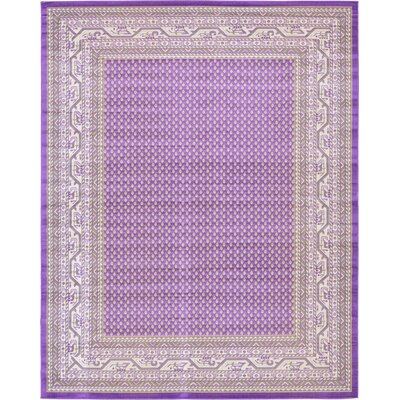 Gillam Violet Area Rug Rug Size: Rectangle 10 x 13