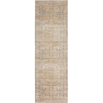 Abbeville Beige Area Rug Rug Size: Rectangle 9 x 12