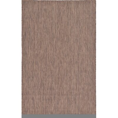 Cheriton Brown Indoor/Outdoor Area Rug Rug Size: 5 x 8