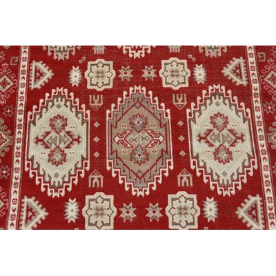 Gillam Red Area Rug Rug Size: Runner 3 x 10