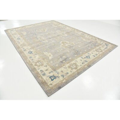 Jaiden Gray Area Rug Rug Size: Rectangle 8 x 11
