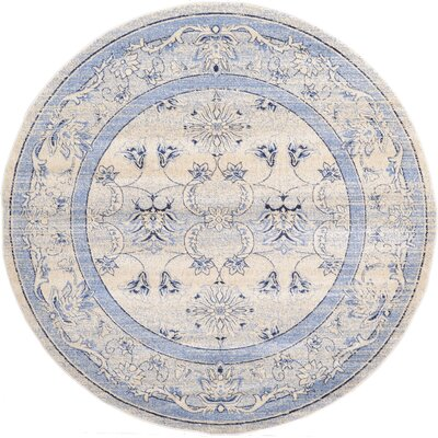 Chappel Machine Woven Polypropylene Area Rug Rug Size: Round 8