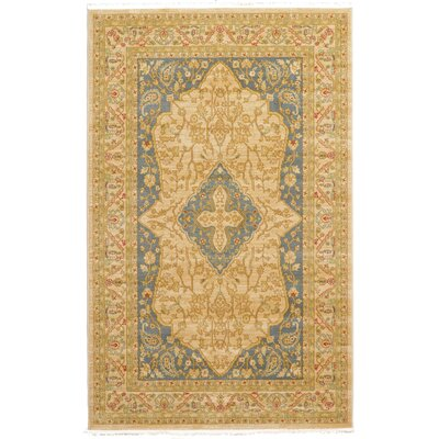 Willow Cream Area Rug Rug Size: 5' x 8'