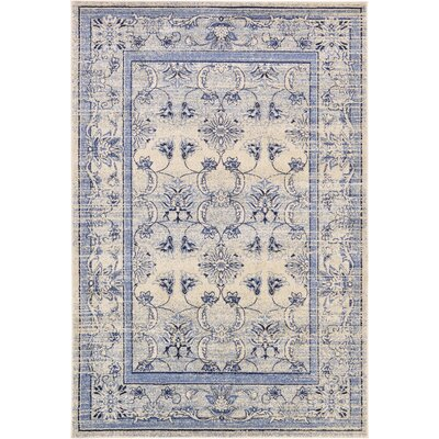 Shailene Ivory Area Rug Rug Size: Rectangle 6 x 9