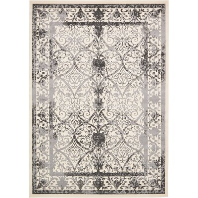 Shailene Ivory Area Rug Rug Size: Rectangle 10 x 14