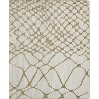 Jessie Cream Indoor/Outdoor Area Rug Rug Size: 8 x 10