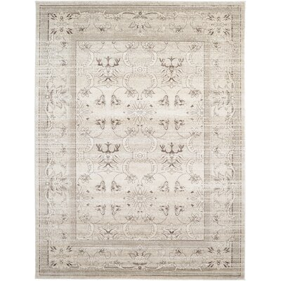 Albermarle Ivory Area Rug Rug Size: Rectangle 33 x 53