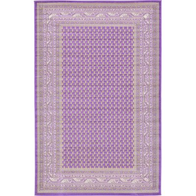 Gillam Violet Area Rug Rug Size: Rectangle 5 x 8