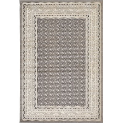 Toni Gray Area Rug Rug Size: Rectangle 6 x 9