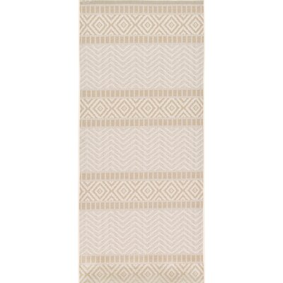 Cheridon Beige Indoor/Outdoor Area Rug Rug Size: Runner 33 x 82