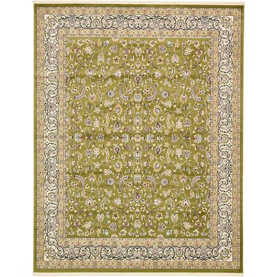 Jackson Green Area Rug Rug Size: Rectangle 8 x 10