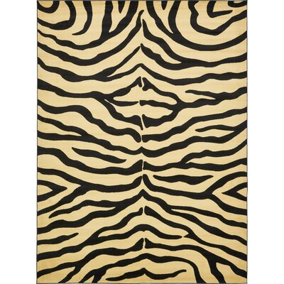 Leif Cream Area Rug Rug Size: Rectangle 5 x 8