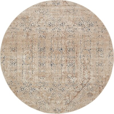 Abbeville Ivory Area Rug Rug Size: 8 x 8