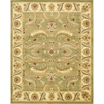 Fairmount Green Area Rug Rug Size: 8 x 10