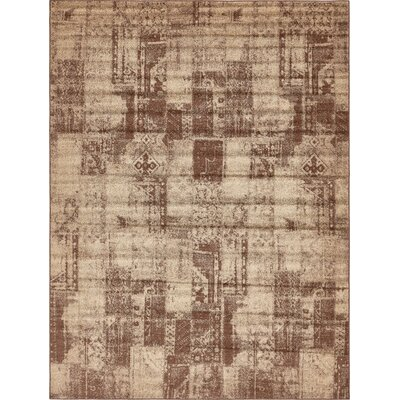 Weese Brown Area Rug Rug Size: Rectangle 9 x 12