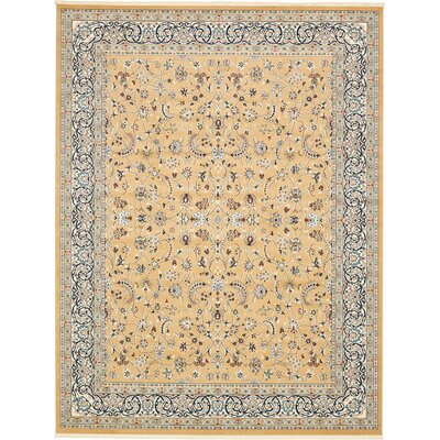 Jackson Beige Area Rug Rug Size: Rectangle 10 x 13