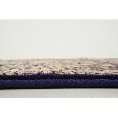 Altadena Navy Blue Area Rug Rug Size: 8'2