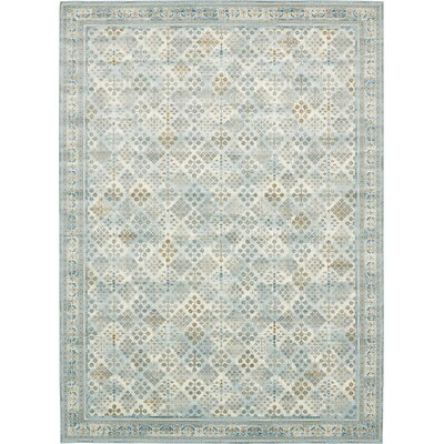 Hurst Blue Area Rug Rug Size: Rectangle 6 x 10