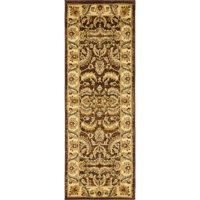 Fairmount Oriental Brown Area Rug Rug Size: Runner 22 x 6