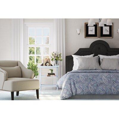 Danbury Hand-Woven Wool Light Blue/Ivory Area Rug Rug Size: Rectangle 8 x 10