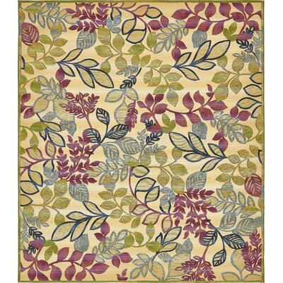 Ronda Cream Indoor/Outdoor Area Rug Rug Size: Rectangle 10 x 12