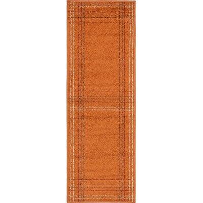 Bryan Terracotta Area Rug Rug Size: Runner 2 x 6