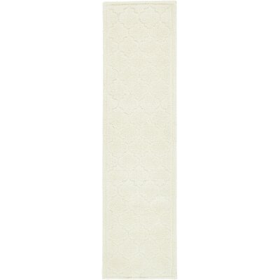 Millvale Ivory Area Rug Rug Size: Runner 27 x 10