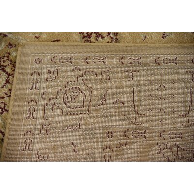 Niles Tan Area Rug Rug Size: Rectangle 5 x 8