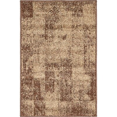 Weese Brown Area Rug Rug Size: Rectangle 2 x 3