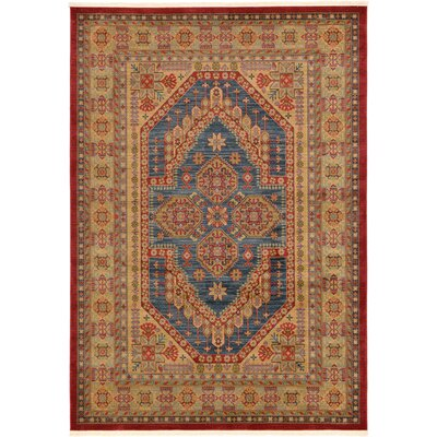 Zoey Red Area Rug Rug Size: 7 x 10