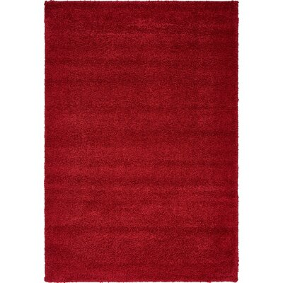 Sydnee Red Area Rug Rug Size: 5 x 77