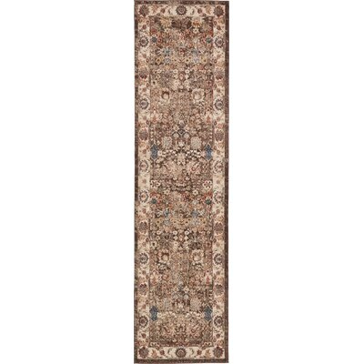 Bridgeport Light Brown Area Rug Rug Size: Runner 27 x 10