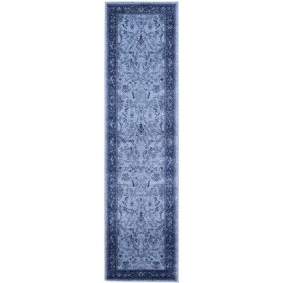 Shailene Blue Area Rug Rug Size: Runner 2 x 6