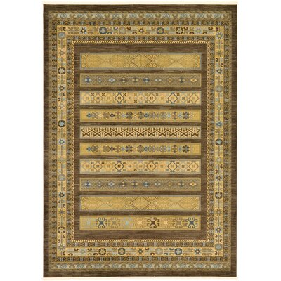 Foret Noire Brown Area Rug Rug Size: 8 x 112