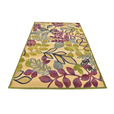 Ronda Cream Indoor/Outdoor Area Rug Rug Size: Rectangle 53 x 8