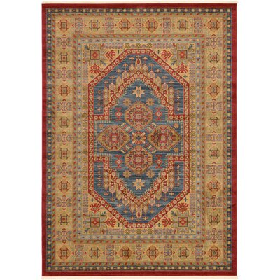 Zoey Red Area Rug Rug Size: 82 x 116