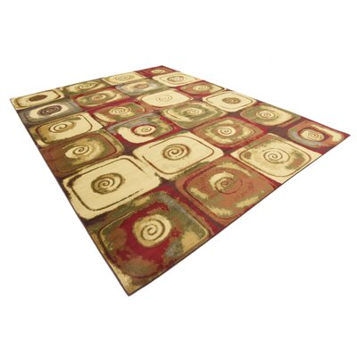 Jaidan Traditional Beige Geometric Area Rug Rug Size: Rectangle 4 x 6