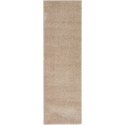 Woodrow Taupe Area Rug Rug Size: Runner 2 x 67
