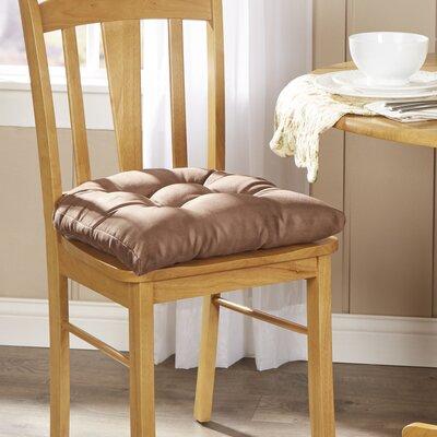 Wayfair Basics Chair Cushion Fabric: Dark Brown